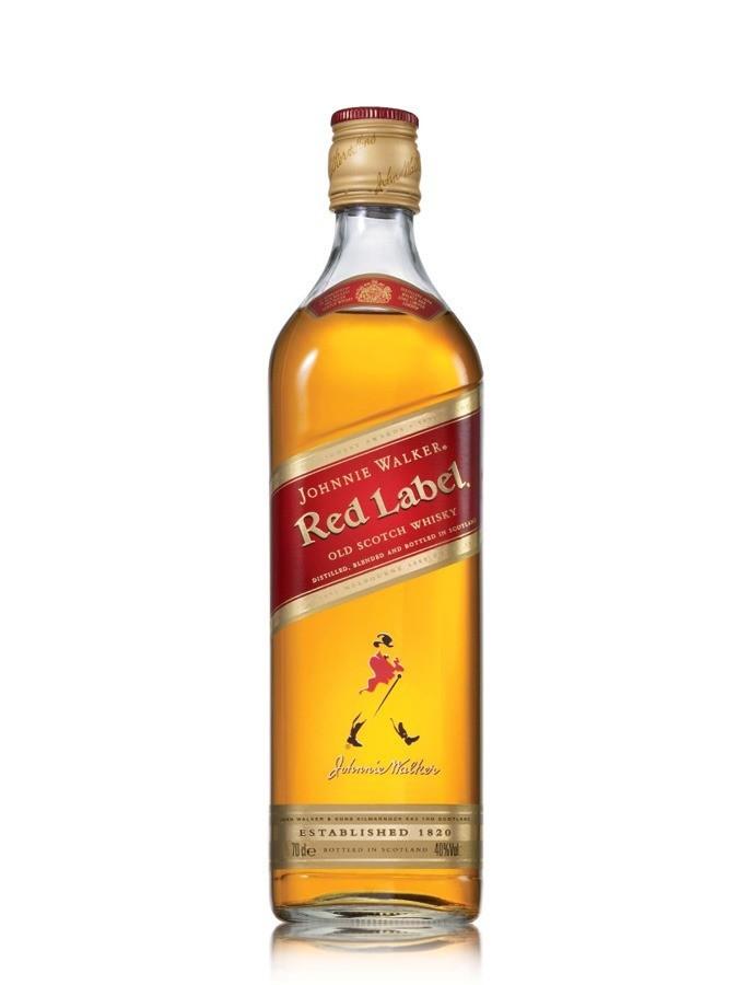Meilleurs whiskies à moins de 30 euros : JohnnieWalker RedLabel