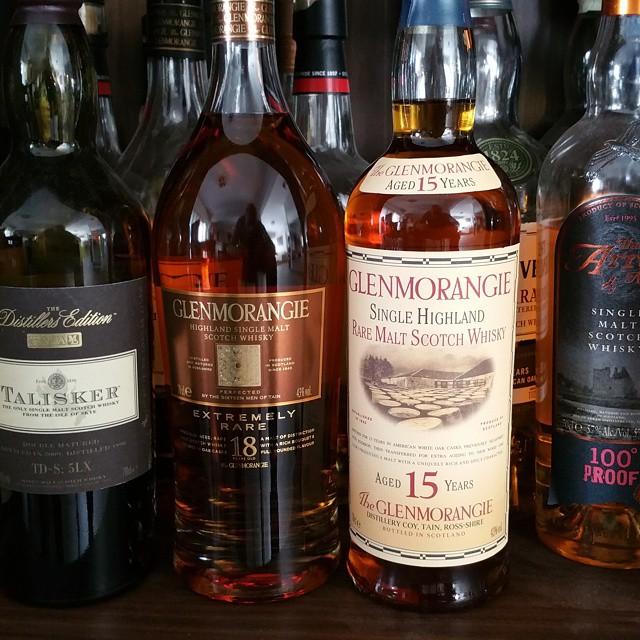 La position verticale permet de conserver son whisky sans frigo et surtout sans altérer le goût