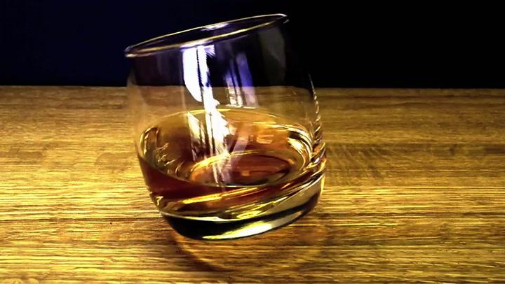 Sagaform Rocking Whiskey Tumbler Glasses