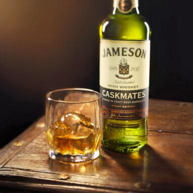 Un whisky à choisir en tant que débutant, le Jameson Caskmates