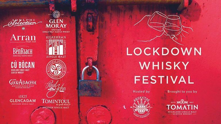 Lockdown Whisky Festival : Premier festival du whisky en ligne